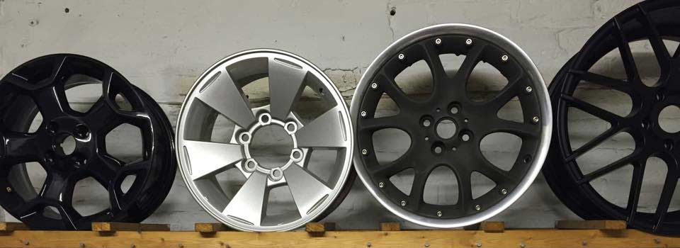 Alloy Wheels Powder Coating