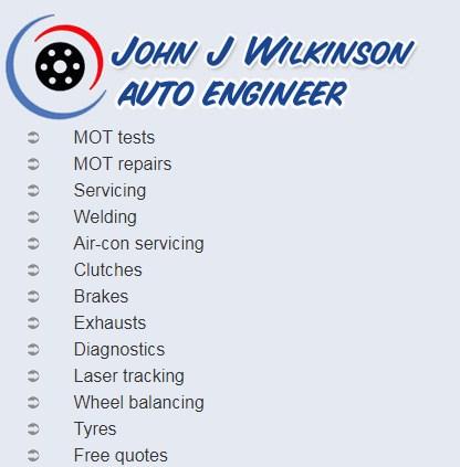 John Wilkinson Auto Engineer